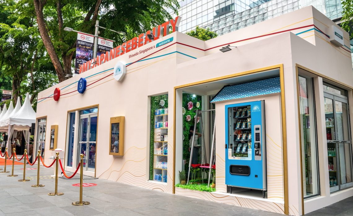 """Shiseido's World First """"My Japanese Beauty Pop-Up Store"""" now in Singapore!"""